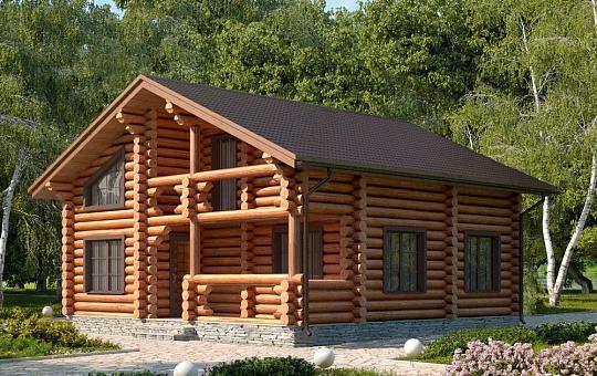 Проект шестиэтажного дома с мансардой DS-6-000