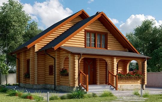 Проект дома с мансардой DS-6-008