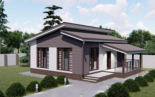 Проект одноэтажного дома DS-1-022
