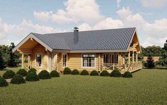 Проект трехэтажного дома с мансардой DS-3-172