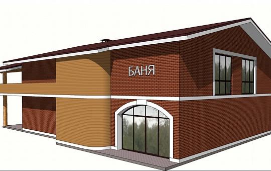 Проект двухэтажного дома DS-2-026