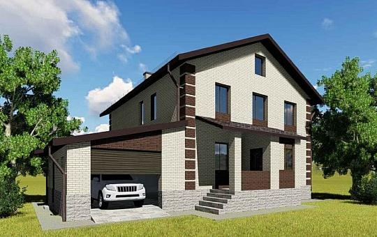 Проект двухэтажного дома DS-2-810