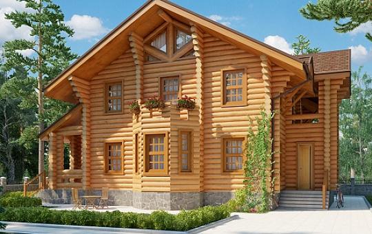 Проект двухэтажного дома DS-2-611