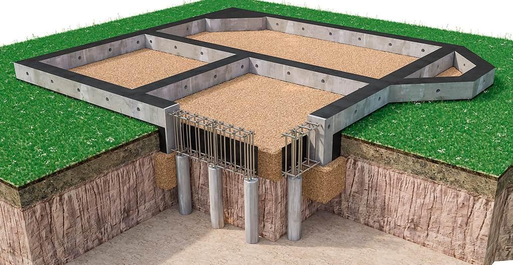 Свайно-ростверковый фундамент в Чебоксарах