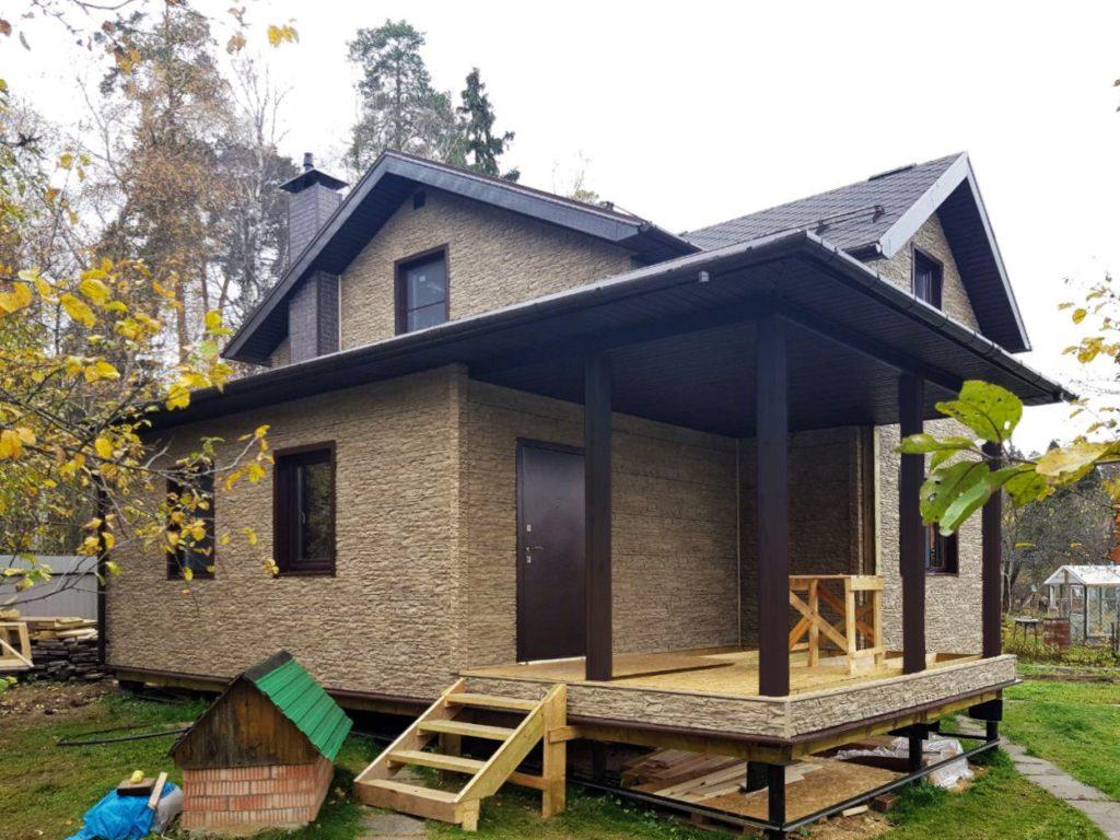 Строительство каркасного дома в Чебоксарах