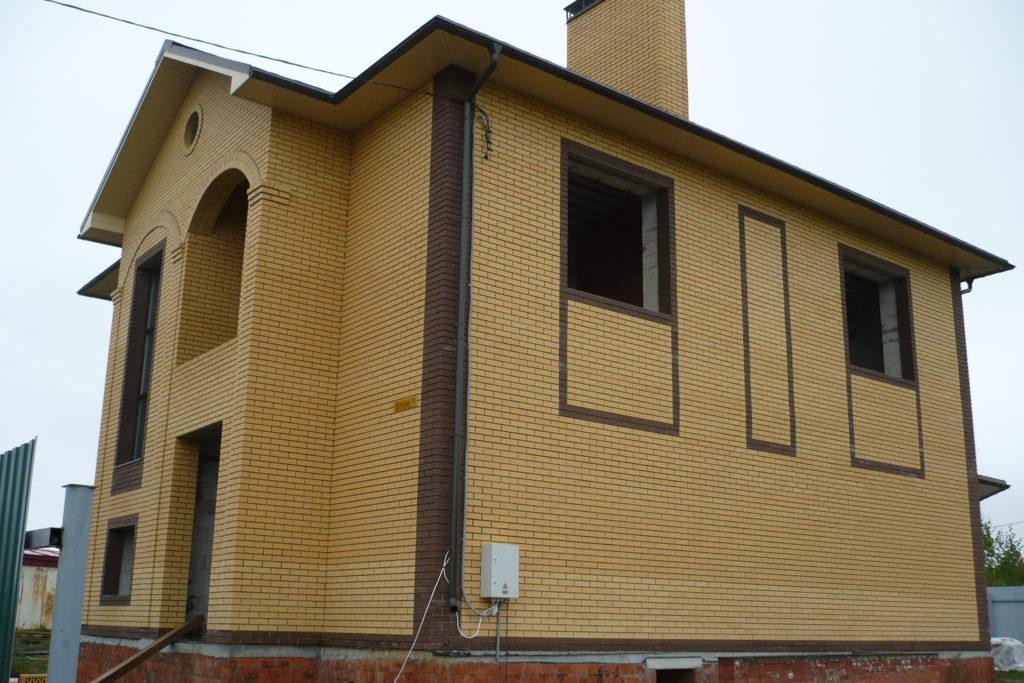 Строительство двухэтажного коттеджа в пос. Вурманкасы